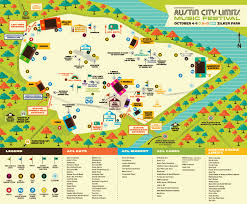Acl Seating Chart Information Acl Music Festival