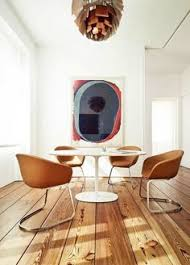 how awesome is this dining room not only are those chairs pretty neat and