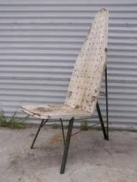 ironing board furniture. check out jamesu0027 custom vintage ironing board chairs this weekend at venice furniture