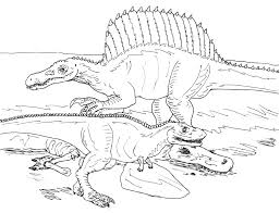 Small Picture Spinosaurus Coloring Pages Within diaetme