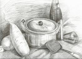 Kitchen Utensils Drawing Kitchen Utensils Drawing G Nongzico
