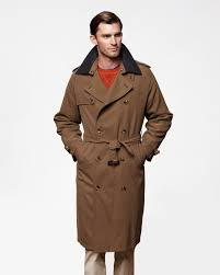 iconic long trench coat with detachable liner