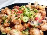 a great appetiser   mushroom salt and pepper