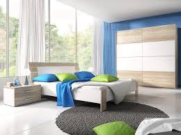 Dreams4home Schlafzimmer Set Jamie Schwebetürenschrank 2x Nako