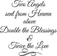 Twin Quotes on Pinterest | Twin Sister Quotes, Twin Baby Quotes ... via Relatably.com