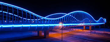 led dubais meydan bridge
