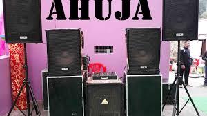 dj sound system. dj sound system ahuja speakers.