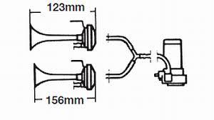 hella hd twin tone air horn Hella Air Horn Wiring Diagram Hella Horn Relay Wiring Diagram