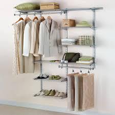 rubbermaid 3 6 ft configurations deluxe custom closet kit titanium hayneedle