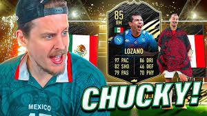MAD LAD LOZANO?! 85 INFORM LOZANO PLAYER REVIEW! FIFA 21 Ultimate Team -  YouTube