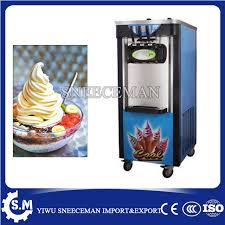 Ice Cream Vending Machine Business New 48 48LH Vertical Soft Ice Cream Machine Maker For Business Use