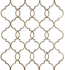 quatrefoil wall decor