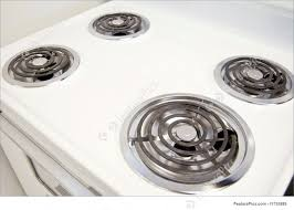 Picture Of Electric Stovetop