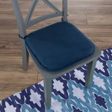 memory foam chair cushion 16 x 16 25 with ties by windsor home on on orders over 45 overstock 21143732