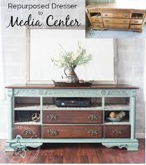 furniture repurposed. repurposed dresser to media center furniture s