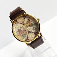 25 best ideas about map watch world watch jewelry genuine leather map watch vintage style leather watch women watches mens watch