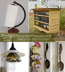 Repurposed Items Repurposed Ideas For The Kitchen Mine For The Making