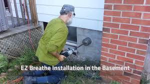 basement ventilation system. EZ Breathe Ventilation System Installation Instructions Basement N