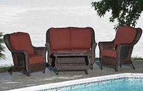 modern wicker patio furniture sets