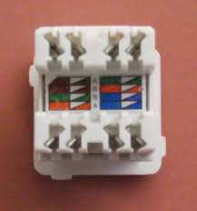terminating cat5e cable on a jack wall mount or patch panel cat5e rj45 jack clipsal style from infocomm engineering