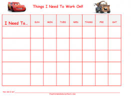 Printable Behavior Charts For Home Free 13 Best Photos Of Printable Behavior Charts For Boys That