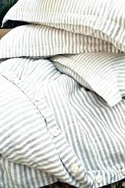 red ticking stripe bedding blue and white decorating with