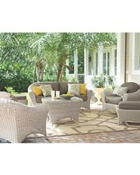martha stewart living patio furniture sets. martha stewart living lake adela bone 6-piece patio seating set with wheat cushions furniture sets i