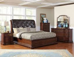 Appealing King Size Bedroom Furniture Sets With Luxury Master Bedroom  Furniture Sets With Tufted Leather Bed Head For Traditional Bedroom Design  Ideas