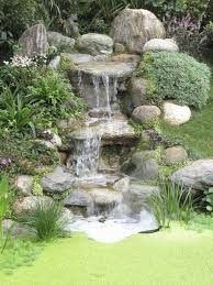 Backyard Pond And Waterfall Designs 50 Pictures Of Backyard Garden Waterfalls Ideas Designs