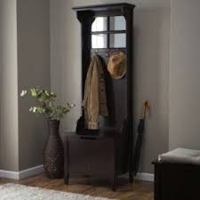 Hallway Storage Bench With Coat Rack Hall Bench Coat Rack Foter 2
