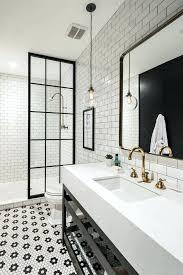 black and white bathroom black and white bathroom pictures best black white bathrooms black white tile
