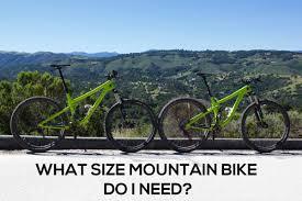 What Size Mountain Bike Do I Need Singletracks Mountain