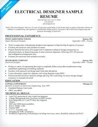 Electrical Engineering Resume Samples Electrical Maintenance Engineer Resume Samples Kubreeuforic