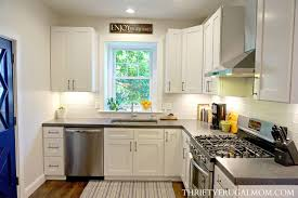 White Kitchen Remodel Property