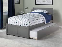 Amazon.com: Atlantic Furniture AR8122019 Orlando Platform Bed with ...