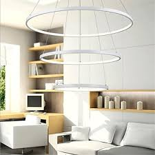 three rings office. Delighful Office Modern Design90W LED Pendant Light Three Rings Fit For  ShowroomLiving Room Intended Office H