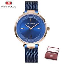 Online Shop MINI FOCUS <b>Brand Women Watches Luxury</b> Blue ...