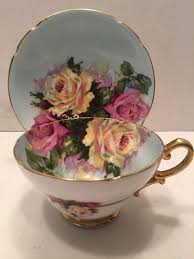 Decorating With Teacups And Saucers Vintage Stanley Fine Bone China Tea Cup and Saucer CERAMIC 48