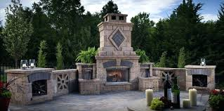 outdoor fireplace chimney outdoor fireplace flue design