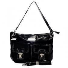 Coach Kristin Lock Medium Black Shoulder Bags n2095