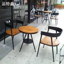 vintage cafe furniture full size of home metal and wood dining chair cafe chairs home design