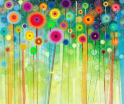 photo gallery of abstract flower paintings viewing 3 20 photos