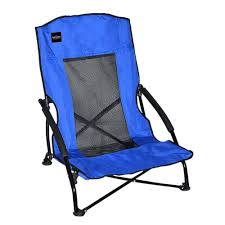 caravan sports blue patio compact chair