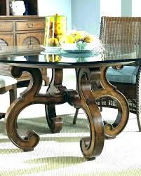 dining table bases dining table base ideas room bases for glass top round plans