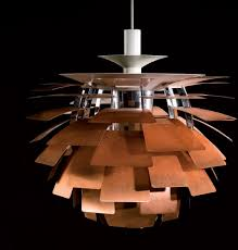 poul henningsens lamps were produced because he thought that the electric light bulbs cast a disturbing light they where either too bright or the