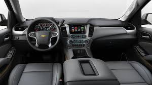 2018 chevrolet suburban in jet black leather interior with dark ash accents h2v