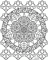 Hard Flower Coloring Pages For Teenagers Coloring Home