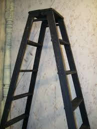 double sided wooden step ladder shelving frame gif 768x1024 wood ladder