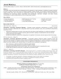 It Manager Resume Template Example Of Restaurant Manager Resume ...