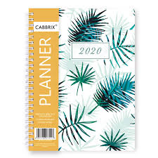 Daily Planners 2015 2020 2020 Planner Weekly Monthly A5 Daily Calendar Organizer Time Management 12 Monthly Tabs 5 8 X 8 3 Inches
